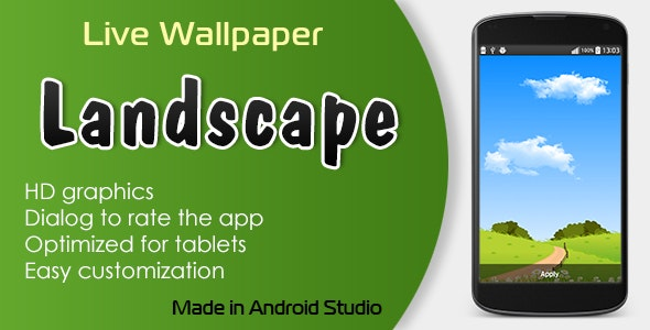 Landscape Live Wallpaper - CodeCanyon Item for Sale
