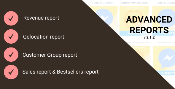 Magento 2 Advanced Reports - CodeCanyon Item for Sale