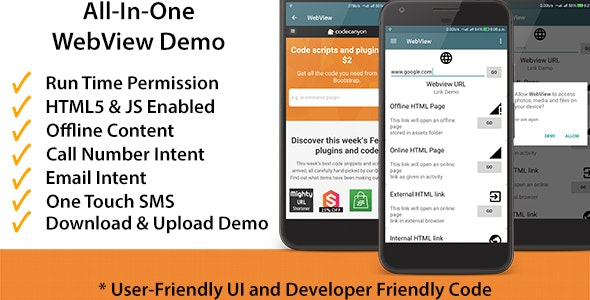 All - In - One : WebView App for Android by CodeMeNot