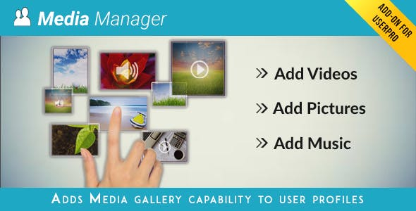 Media Manager for UserPro