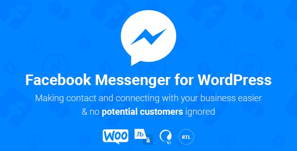 NinjaTeam Facebook Messenger for WordPress - CodeCanyon Item for Sale