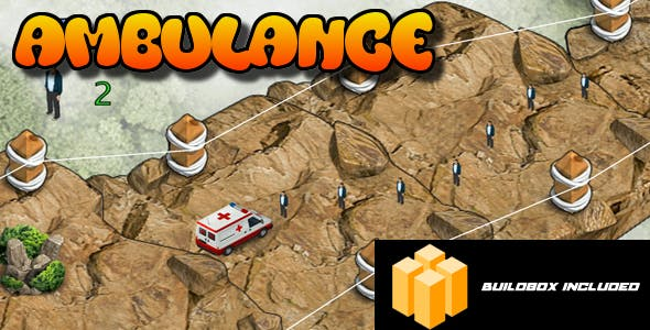 Ambulance Android IOS Buildbox Included