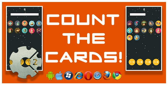 Count the Cards! - HTML5 Game