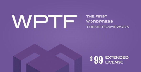 WPTF - WordPress Theme Framework - CodeCanyon Item for Sale