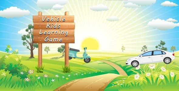 Vehicle Kids Car Learning Android