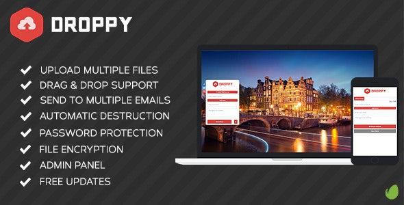 Droppy - Online file sharing - CodeCanyon Item for Sale