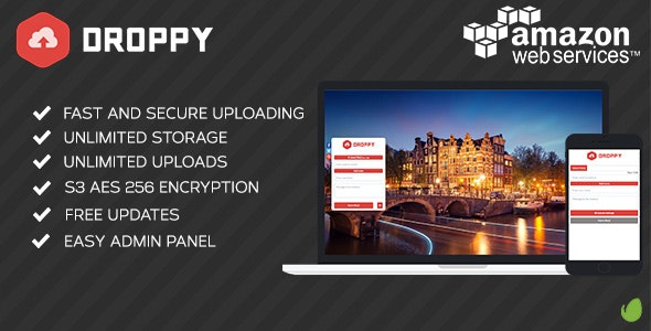 Amazon S3 - Droppy online file sharing - CodeCanyon Item for Sale