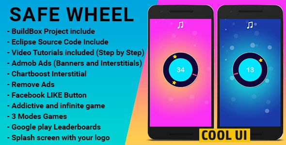 Safe Wheel | iOS Template | Buildbox Include - CodeCanyon Item for Sale