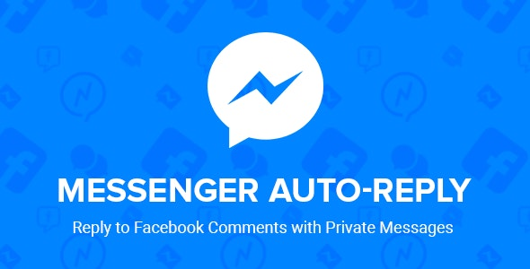 Facebook Messenger Auto-Reply - CodeCanyon Item for Sale