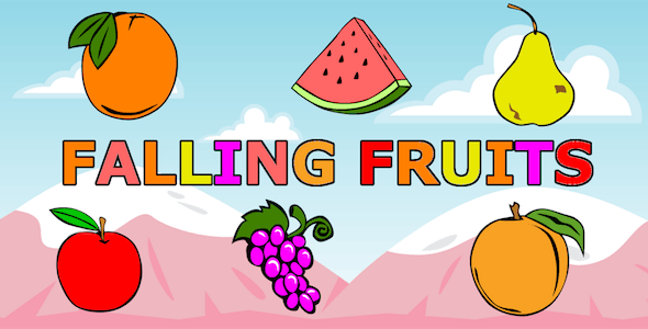 Falling Fruits - CodeCanyon Item for Sale