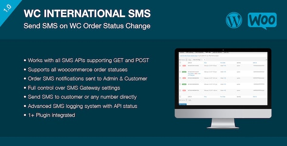 International SMS For WooCommerce - CodeCanyon Item for Sale