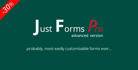 Just Forms Pro advanced