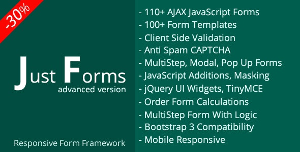 Just Forms advanced by lazycode | CodeCanyon