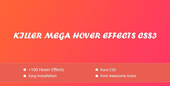 Killer -  Hover Effects