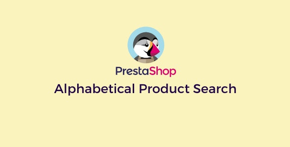 Prestashop Alphabetical Product Search - CodeCanyon Item for Sale