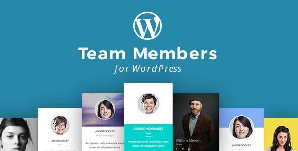 WordPress Team Members Plugin with Layout Builder