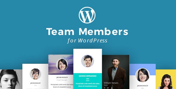 WordPress Team Members Plugin with Layout Builder - CodeCanyon Item for Sale