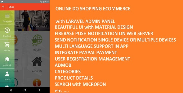 Online Do Shopping Ecommerce with Laravel Admin Panel - CodeCanyon Item for Sale