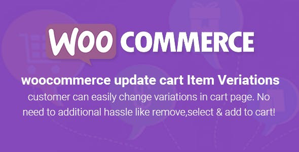 WooCommerce Variant Update On Cart Page