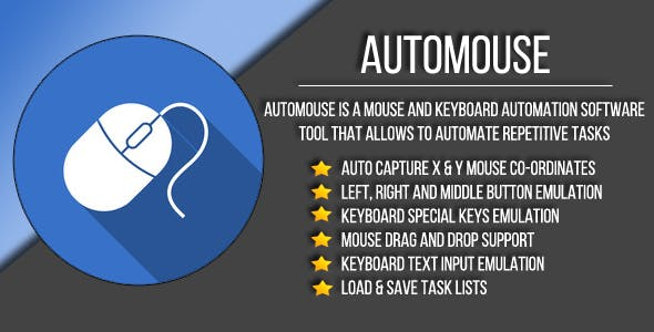 AutoMouse - Mouse & keyboard automation tool