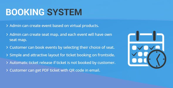Booking System Magento 2