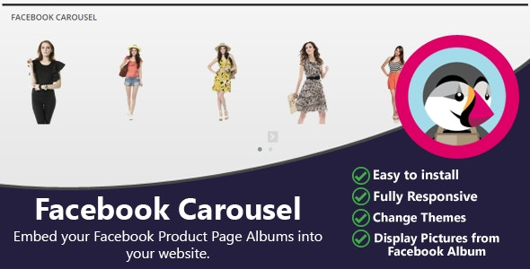 Facebook Carousel - CodeCanyon Item for Sale