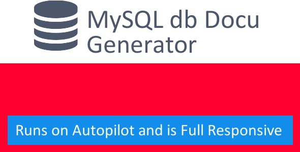MySQL Documentation Generator