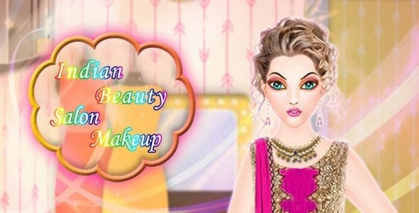 Indian Beauty Makeup Salon Spa With Admob Banner & Interstitial - Android & iOS