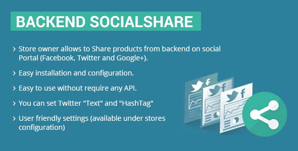 Socialshare Admin Magento 2 - CodeCanyon Item for Sale
