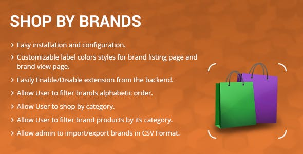 Shop by Brands  Magento 2 extension