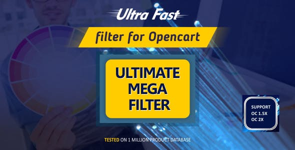 Ultimate Mega Filter - Opencart