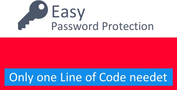 Easy Password Protection