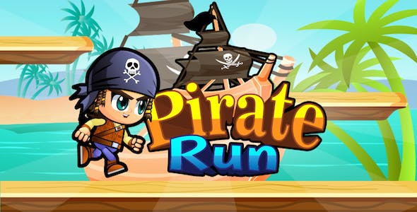 Pirate Adventures iOS And TvOS (Leaderboard,  Admob, Game Services, 2 Xcode Project )