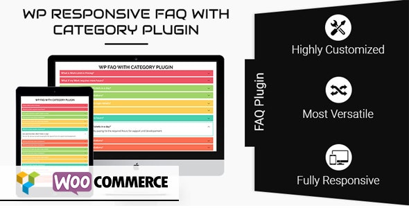 WP Responsive FAQ with Category - CodeCanyon Item for Sale
