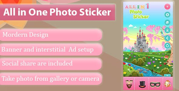 All In One Photo Sticker