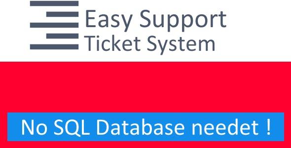 Easy PHP Support System