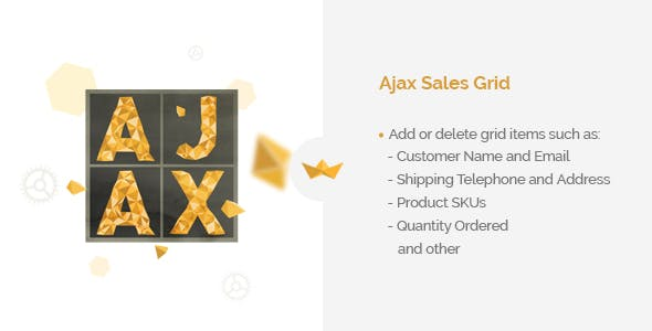 Ajax Sales Grid