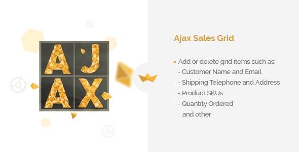 Ajax Sales Grid - CodeCanyon Item for Sale