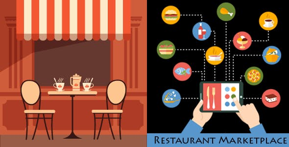 Online Multi Restaurants Marketplace for WooCommerce