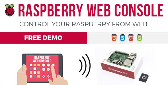 RWC - Raspberry Web Console
