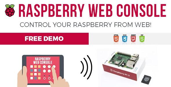 RWC - Raspberry Web Console - CodeCanyon Item for Sale