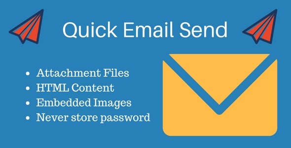 Quick Email Send - CodeCanyon Item for Sale