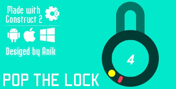 Open The Lock - HTML5 Game (CAPX)