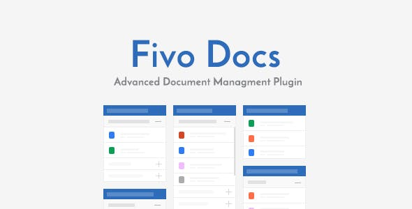 Fivo Docs - WordPress Documents and Attachments Manager - CodeCanyon Item for Sale