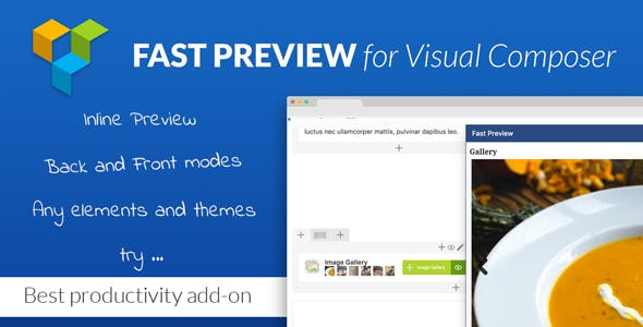 Fast Preview for Visual Composer - Best Productivity Add-on