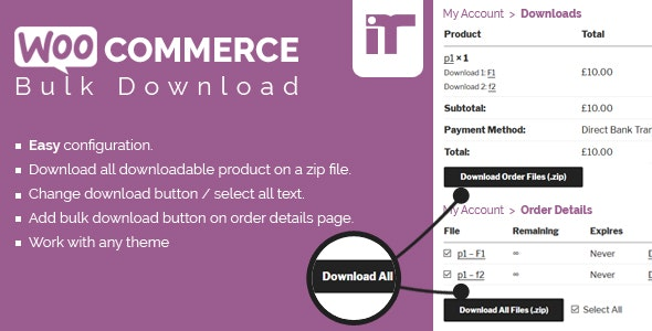 Woocommerce Bulk Download - CodeCanyon Item for Sale