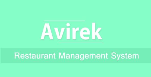 Avirek Restaurant Management System Pro