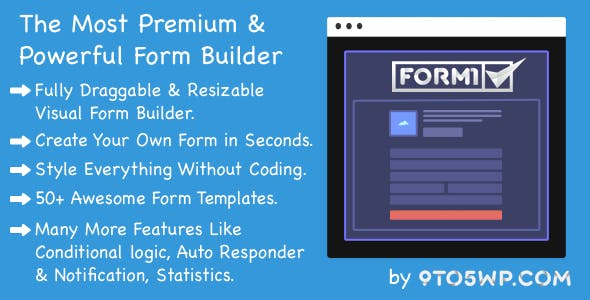 Formi - The Most Premium & Powerful WordPress Form Builder Plugin