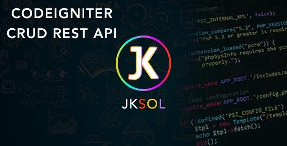 codeigniter crud rest api by jksol | CodeCanyon