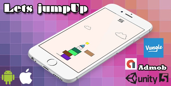 Lets Jump Game iOS / Android - CodeCanyon Item for Sale